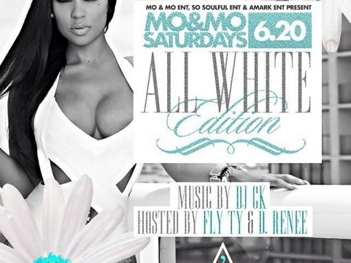 Mo & Mo Saturdays All White Edition – Apostrophe