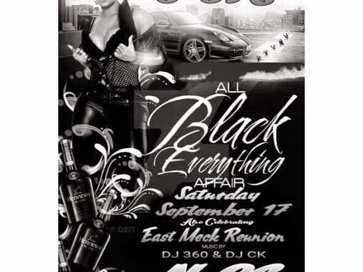 All Black Everything Affair – Charlotte, NC